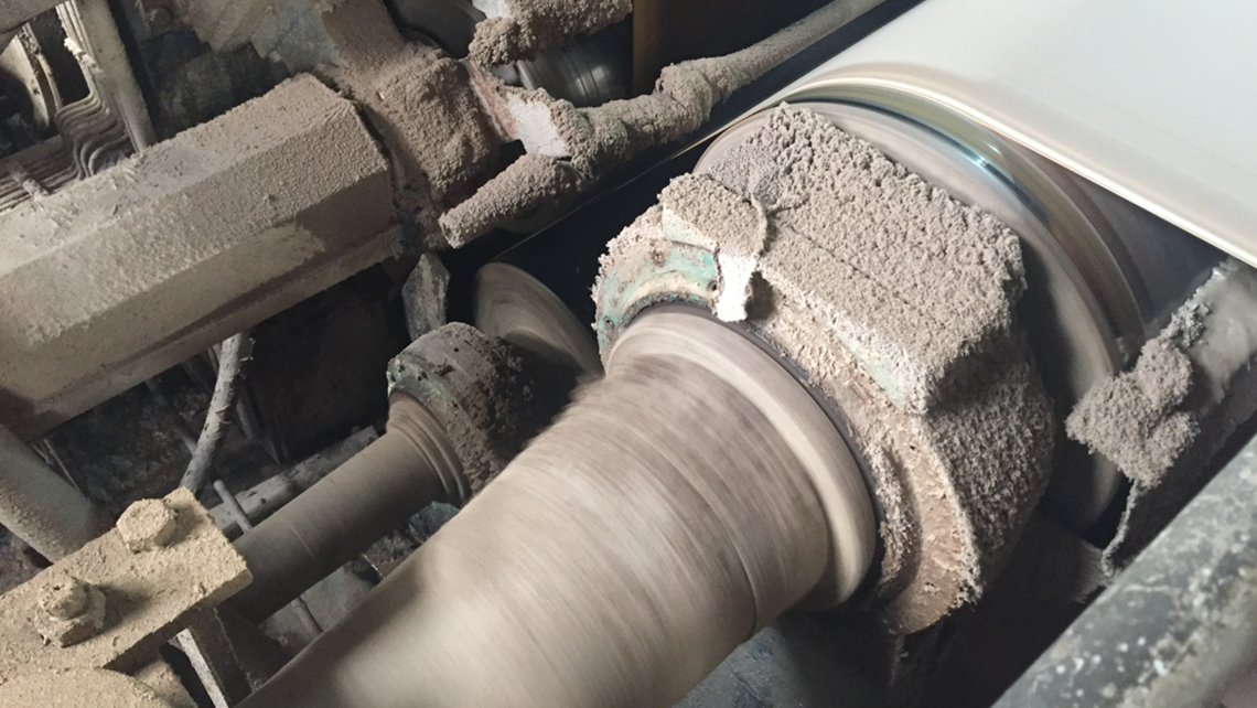 Case study: Outer race bearing damage in paper machine couch roll